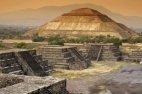 თეოტიუაკანი. მექსიკა. მზის პირამიდა.