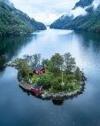 კუნძული ნორვეგიაში...