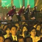 ჩრდილო კორეელები პირველად უყურებენ სამხრეთ კორეულ პოპ-ცეკვას