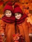 შემოდგომის ფერები და ულამაზესი ბავშვები