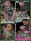 პატარა ანდრია, რომელმაც 6 თვისამ გაიცნო მამა რადგან მამა ავღანეთში იყო როცა ის დაიბადა