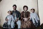 აფრო-ამერიკული ოჯახი. 1865 წ.