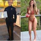 პოლიციელი ქალი