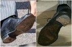 წუწურაქი პრინცი ჰარი, ასეთი ფეხსაცმელით მივიდა ქორწილში
