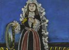 """ფიროსმანის ნახატი """"ქართველი ქალი ლეჩაქით"""" სოტბის აუქციონზე 2 230 000 ფუნტად გაიყიდა"""