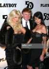 ვიქტორია სილვესტერი,დონალდ ტრამპი და მელანია კნაუსი(ტრამპი)Playboy-ის 50 წლისთავზე(2003 წელი)
