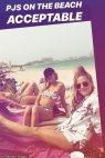 დუბაის ცხელი სანაპირო და Caroline Flack started her Dubai