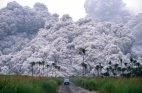 პინატუბუს ვულკანი ფილიპინებში - მომენტი, როდესაც 20 მილიონ ტონა გოგირდის დიოქსიდს ანთხევს სტრატოსფერ