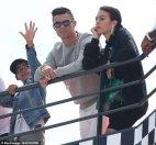 მონაკოში ისვენებს რონალდუ ცოლ - შვილთან ერთად