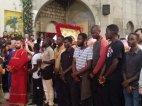 ვლაქერნობის დღესასწაულზე ზუგდიდში აფრიკელი მართლმადიდებლები ჩამოვიდნენ და ქართულად იგალობეს