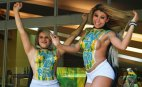 ბოდი არტი ბრაზილიურად, ისე იმდენად ხორციანი ქალებია პანორამის დახატვაც იყო შესაძლებელი