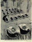 საბავშვო ბაღში პატარებს ასე აძინებდნენ  სუფთა ჰაერზე. სსრკ.. 1958  წ