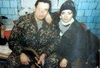 მუსა ბაშხანოვი მეუღლესთან, რუბათი მიცაევასთან პირველ ჩეჩნეთის ომში