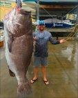 უზარმაზარი თევზი დაიჭირა