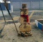 """""""ხის თოვლის კაცი"""""""