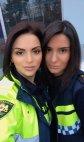 ქართველი პოლიციელი დები ინგა და ნათია პირადაშვილები. გვიმრავლოს ასეთი ადამიანები