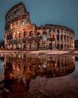 რომის კოლიზეუმი ნაგებია ტუფით
