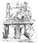 ტავრობოლიუმი – ხარის სამსხვერპლოდ შესაწირი ადგილი რომში ანტონიუსების დინასტიის დროს