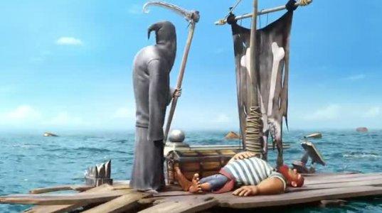 """""""მეზღვაური  და სიკვდილი""""-ძალიან მაგარი ანიმაცია"""