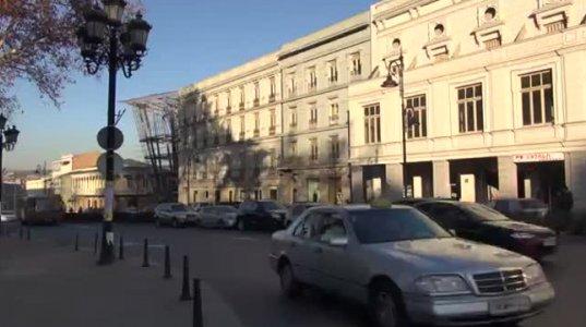 თბილისში  რამდენიმე ქუჩის ტროტუარზე პარკირების 50 ადგილი გაუქმდა
