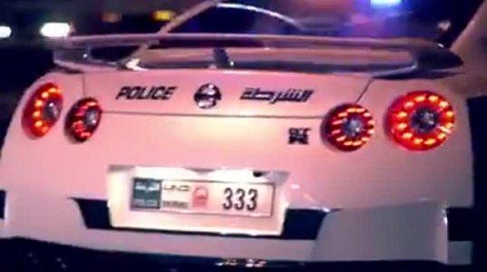 დუბაის პოლიციის მანქანები