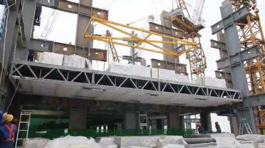 როგორ აშენებენ ჩინელები 57 სართულიან კორპუსს 19 დღეში