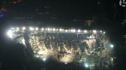 ჩინეთში 10 წამში 19 მრავალსართულიანი კორპუსი ააფეთქეს