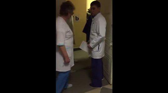 ავადმყოფს იმდენ ხანს ალოდინეს,რომ სისხლისგან დაიცალა
