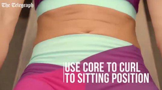 მარტივი ვარჯიშები ქალებისთვის მუცლის კუნთების გასამაგრებლად