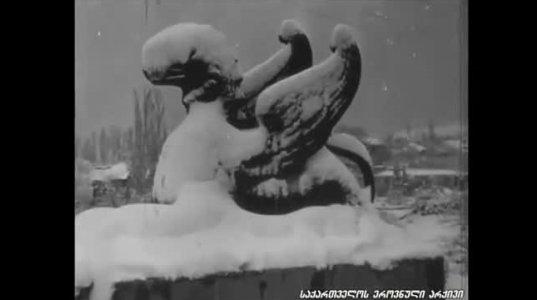 პირველი თოვლი თბილისში, 1939 წელი