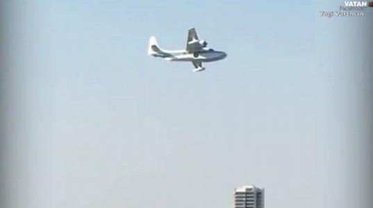 ავსტრალიაში, თვითმფრინავის ჩამოვარდნის კადრები, ახალგაზრდებმა სამოყვარულოკამერით
