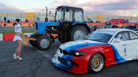 ტრაქტორი ეძახე და BMW-ს უწევს კონკურენციას