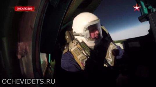 """რუსული  გამანადგურებელი """"მიგ-31""""   21 კილომეტრის სიმაღლეზე აფრინდა"""