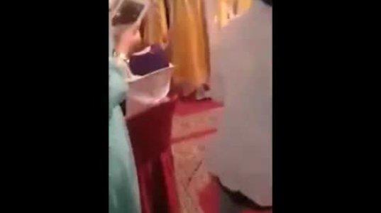 აი რით დამთავრდა საქორწინო ცერემონია