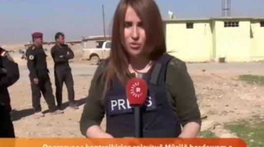 ეს ჟურნალისტი პირდაპირი ეთერში ჩართვის დროს გარდაიცვალა  ერაყში აფეთქებისშედეგად