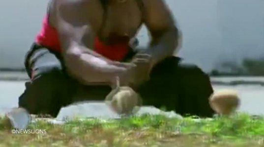 ახალი რეკორდი - ინდოელმა მექანიკოსმა 1 წუთში ხელით 124 ქოქოსი გატეხა