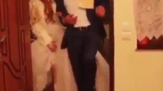 ნახეთ რა უქნა სიძემ პატარძალს სომხურ ქორწილში