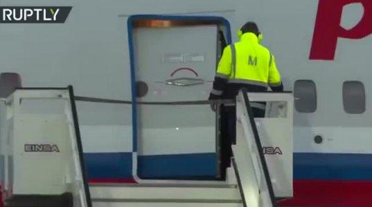 პუტინის დაცვა მოქმედებაში - აი რა კადრები გადაიღეს აეროპორტში