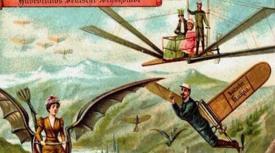 როგორი წარმოედგინათ მომავალი 1900-იან წლებში