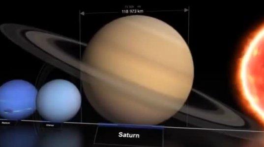 რამდენად პატარა და უმნიშვნელოა ჩვენი სამყარო,,,  უსასრულო სამყაროში