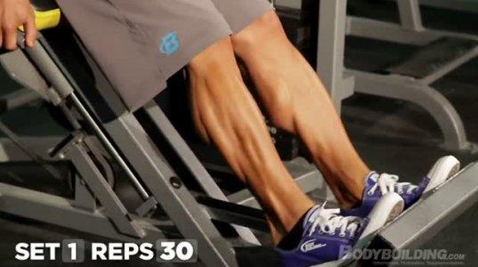 ფეხის კუნთების სწორი ვარჯიში