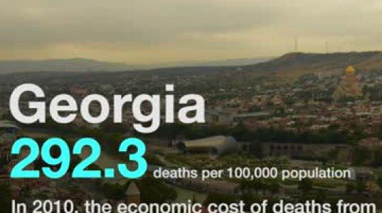 ყველაზე მაღალი სიკვდილიანობა ჰაერის დაბინძურების გამო (სტატისტიკა)