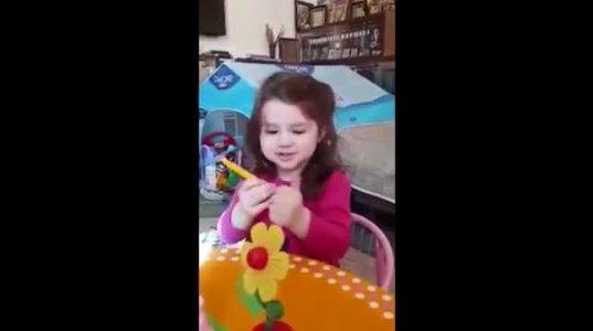 2 წლის ქართველი ფილოლოგი გოგონა, რომლის გონიერება გაგაოცებთ