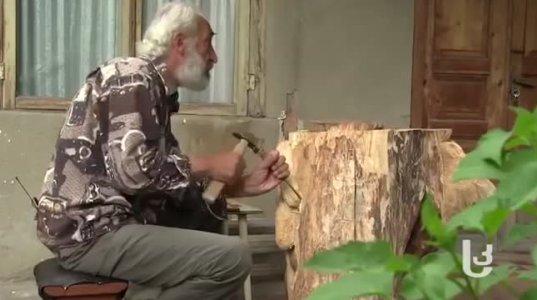 ქართველმა ბაბუმ თავისი ნიჭით მთელი საქართველოს ყურდღება მიიპყრო