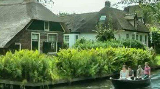 სადაც სამანქანო გზები არ არსებობს. ერთ-ერთი სოფელი ჰოლანდიაში