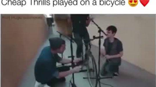 ველოსიპედი როგორც მუსიკალური ინსტრუმენტი