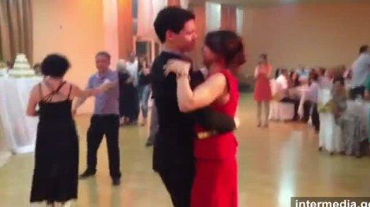 დათუნა ალადაშვილის უბადლო ცეკვა ქორწილში