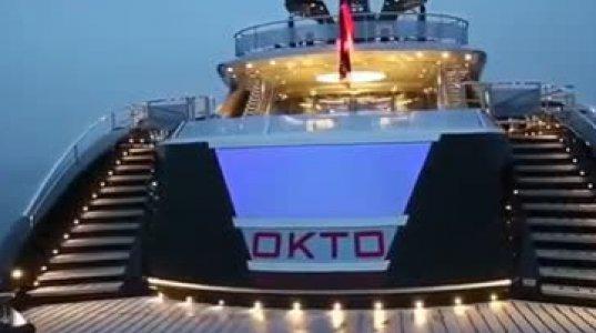 """74 მილიონი დოლარი ღირს ეს იახტა სახელად """"OKTO"""""""