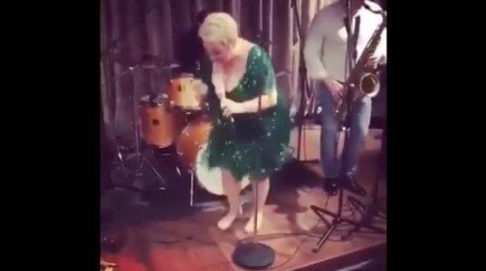 თეონა კონტრიძის ცეკვა
