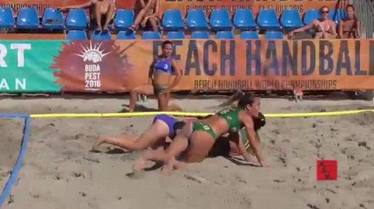 Beach Handball - ალბათ ამ სპორტის ფანკლუბის 99 % მამაკაცია